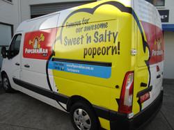 Popcorn Man Van