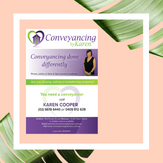 Conveyancing by Karen Advert