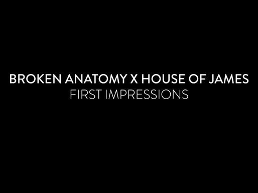 Broken Anatomy X House of James