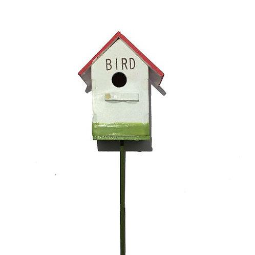 木製ピック 小鳥のお家