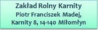 Franciszek Madej karnity maxcrop