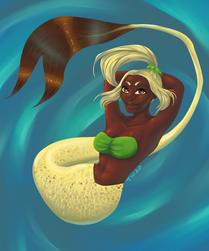 Spotted Mermaid