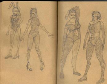 Neon Animal Girls Sketch.jpg