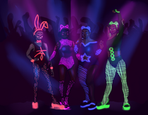 Neon Animal Girls