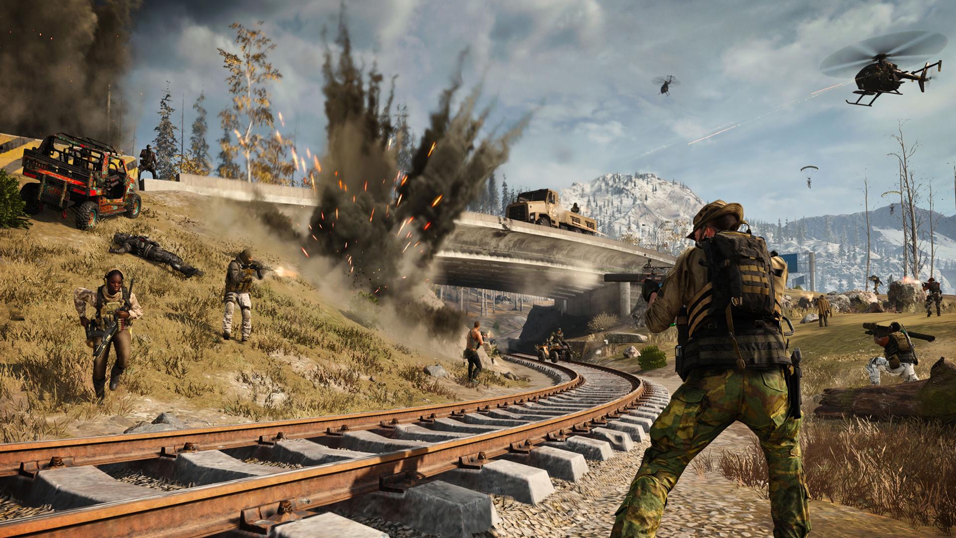'Call Of Duty: Modern Warfare' And 'Warzone' Season 5 Trailer Reveals Moving Train, Open Stadium