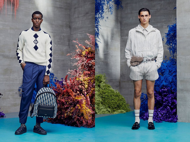 A Notable Look At Dior's Resort 2021 Menswear Collection