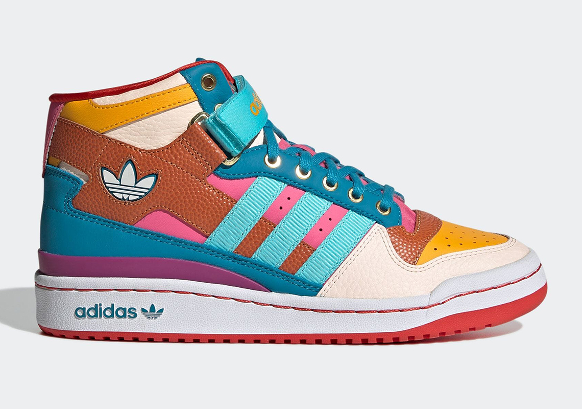 """A Detailed Look At The adidas Forum Mid """"Multicolor"""" Designed By The S.E.E.D."""