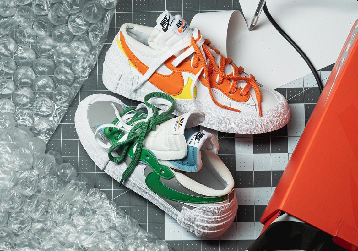 Exclusive Release of The sacai x Nike Blazer Low