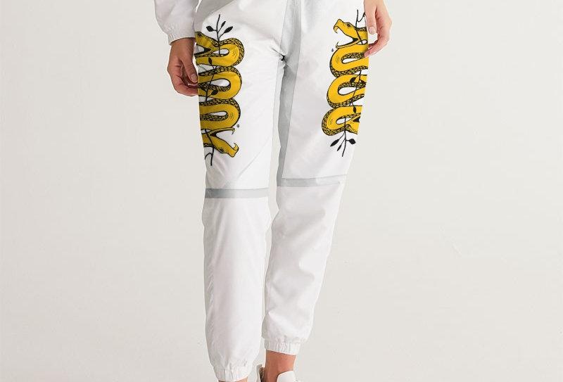 WOCKIET Women's Two Headed Snake logo Track Pants