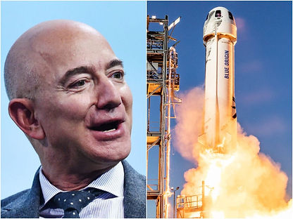 Watch Jeff Bezos Launches To The Edge Of Space on Blue Origin's First Passenger Flight