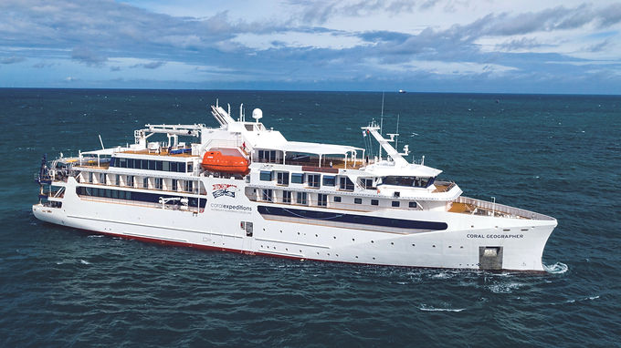 VARD delivered second Expedition Cruise Vessel to Coral Expeditions