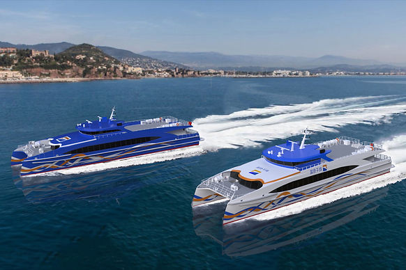 INCAT CROWTHER 40 - A FLEET LEADING PASSENGER FERRY FOR CHINA