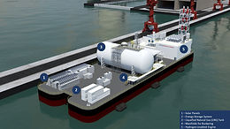Singapore's First Floating Energy Storage System
