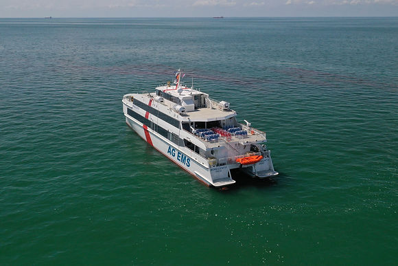 46m Passenger Ferry Solidifies Incat Crowther's Position As A Shipbuilding Partner