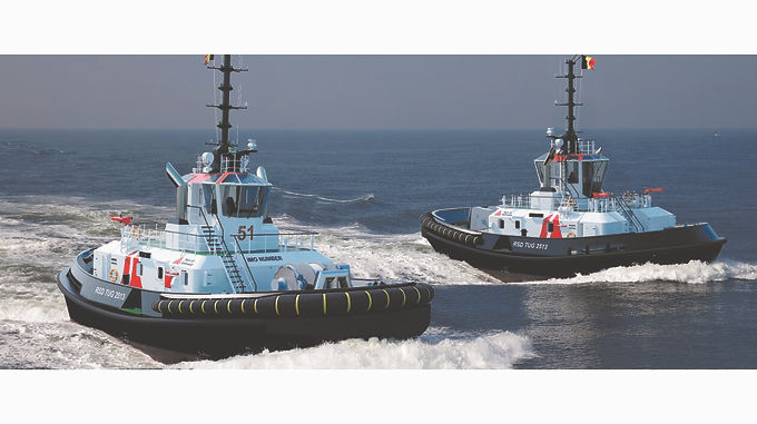 DAMEN SIGNS CONTRACT WITH PORT OF ANTWERP FOR DELIVERY OF TWO IMO TIER III COMPLIANT RSD TUG 2513