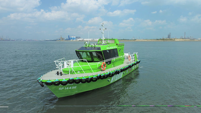 """BH Global Successfully Delivered Singapore's First Hybrid-Powered Ship – The """"Penguin Tenaga"""""""