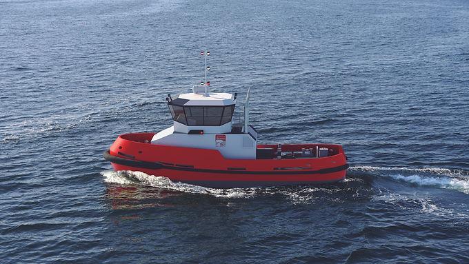 PIRIOU builds 16m tug for  Société Coopérative des Lamaneurs  of Brest and Roscoff harbours