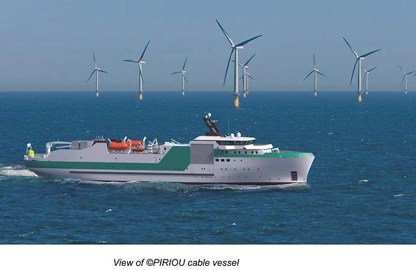 PIRIOU Has Developed 100m Cable Vessel