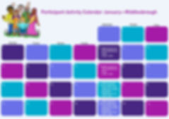 Participant Activity Calendar - Middlesb