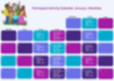 Participant Activity Calendar - Stockton