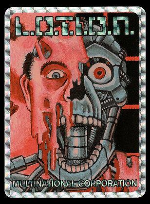 L.O.T.I.O.N. Multinational Corporation Prism Sticker