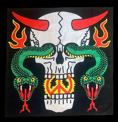 Skull Snake Bandana