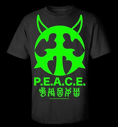 Neon P.E.A.C.E. T-Shirt