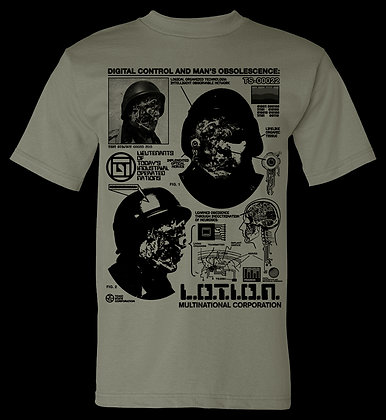 L.O.T.I.O.N. Multinational Corporation Digital Control T-Shirt