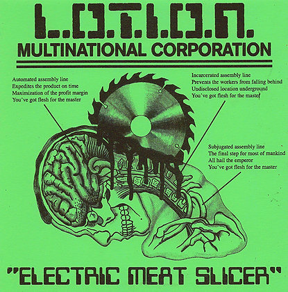 L.O.T.I.O.N. Multinational Corporation- Electric Meat Slicer Flexi