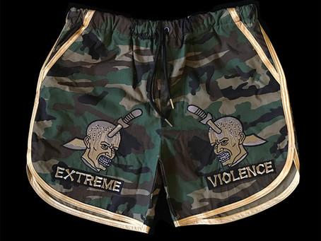 Extreme Violence Shorts Pre Order