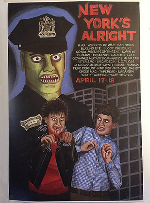 New York's Alright 2015 Poster