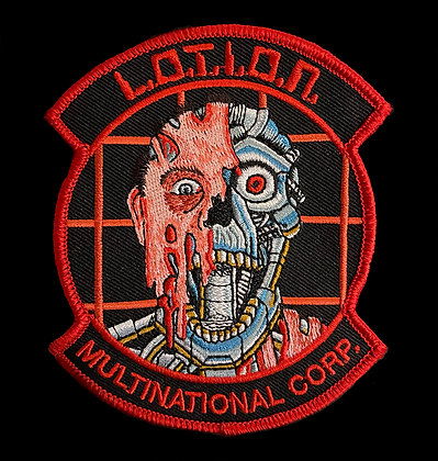 "L.O.T.I.O.N. Multinational Corporation ""Alphabrain"" Patch"