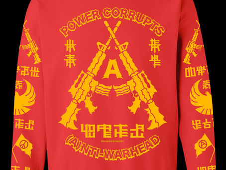 Anti-Warhead Long Sleeve & Crewneck Sweatshirt