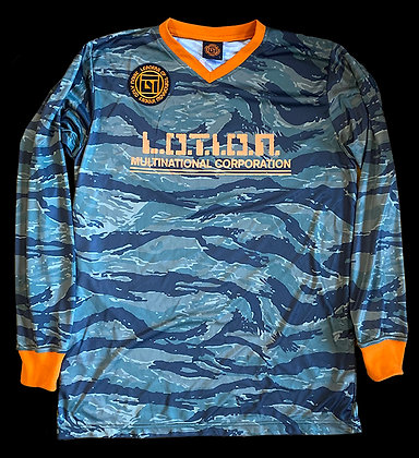 L.O.T.I.O.N. Multinational Corporation Soccer Jersey