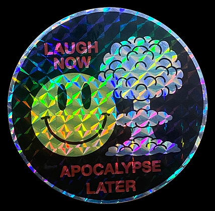Laugh Now Prism Sticker