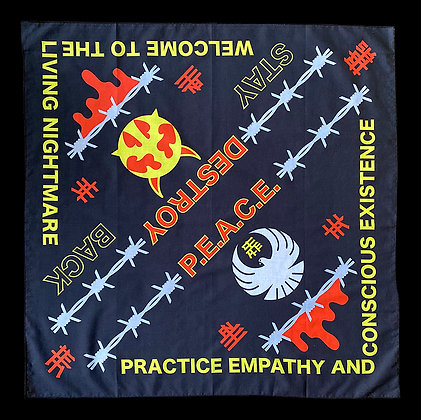 Destroy/Peace Bandana