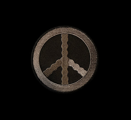 Peace Target Embroidered Patch