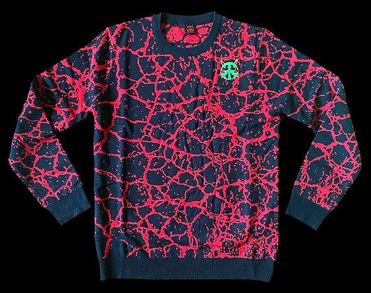 Splatter Knit Sweater