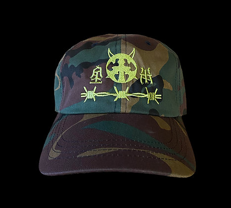 P.E.A.C.E. Embroidered Hat