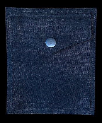 Waxed Cotton Sew On Pocket