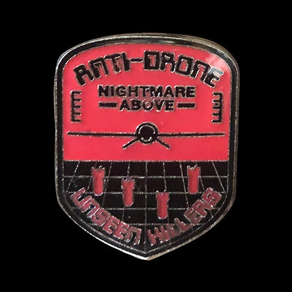Anti-Drone Enamel Pin