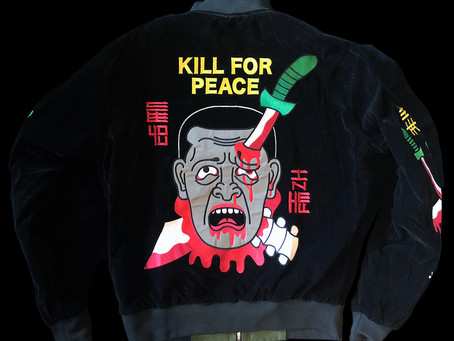 Kill For Peace Embroidered Bomber Jacket