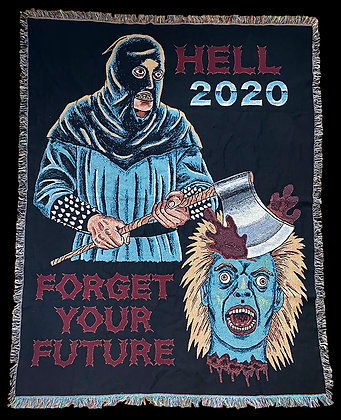 Hell 2020 Woven Blanket