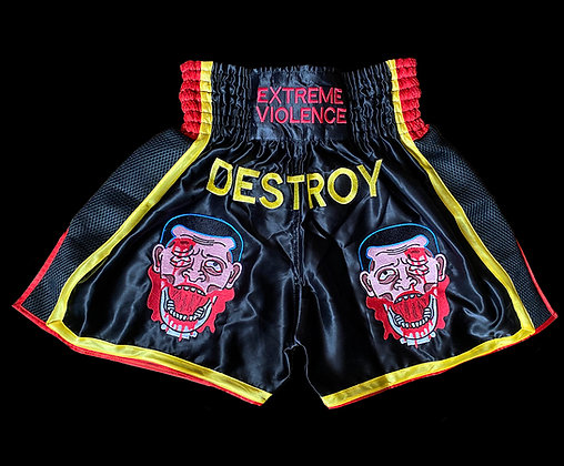 Extreme Violence Muay Thai Shorts Preorder
