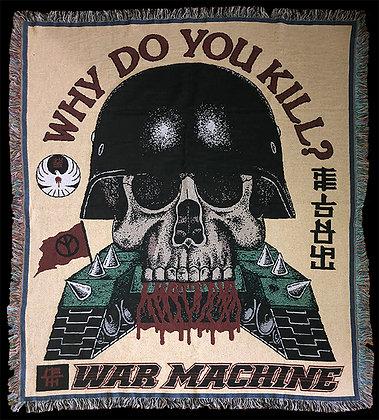 War Machine Woven Blanket