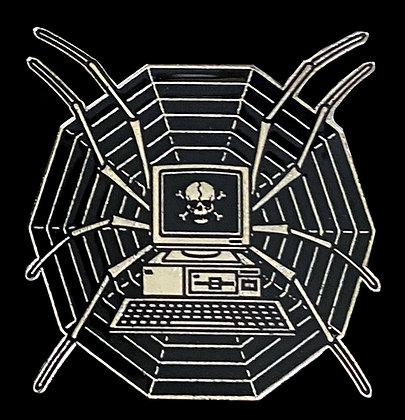 Web Enamel Pin
