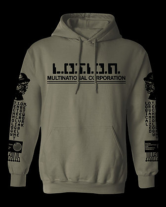 L.O.T.I.O.N. Multinational Corporation Digital Control Hoodie