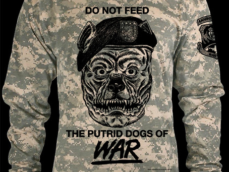 Dogs Of War Long Sleeve Tee