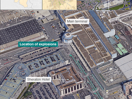 Brussels explosions: Many dead in airport and metro terror attacks