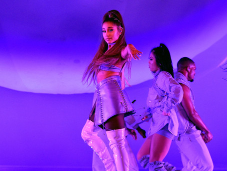 "Ariana Grande Dropped a Surprise Live Album Called ""K Bye For Now"" The perfect way to say ""thank u,"